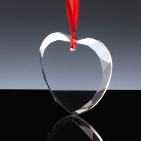 Christmas Tree Decoration - Heart