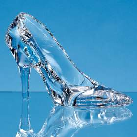 Lead Crystal Stiletto Shoe