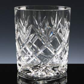 Fully Cut Inverness Lead Crystal 11oz whisky tumbler