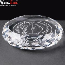Optical Crystal Round paperweight