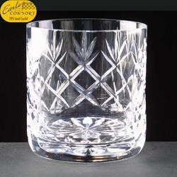Panelled whisky tumbler - Earle Consort