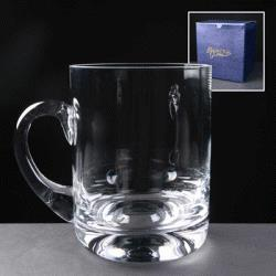 Rock Base Tankard - Balmoral Glass