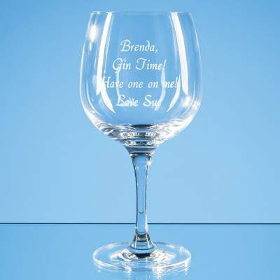 Spanish Gin Glass